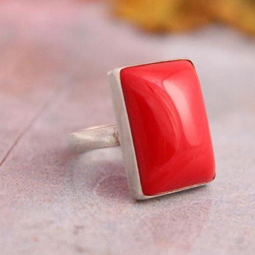 red coral stone