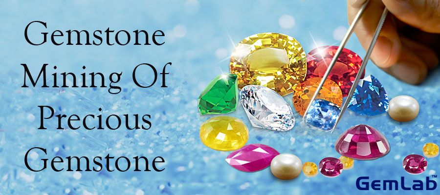 Gemstone Mining of Precious Gemstone