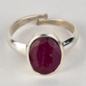 ruby stone ring